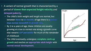 Late Bloomer Growth Chart Constitutional Delay Of Growth And Puberty
