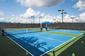 Post Tensioned Tennis Court Design Pickleball Court Surfaces Construction Courtmaster