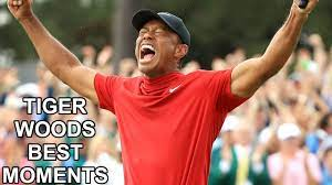 Tiger Woods Best Shots and Moments