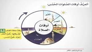 أوقات الصلاة - التربية الإسلامية - الثاني الابتدائي - YouTube