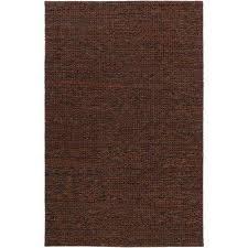 tescott dark brown 8 ft x 10 ft area rug