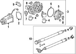 parts com® gmc terrain axle differential oem parts 2010 gmc terrain slt v6 3 0 liter gas axle differential