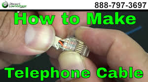 how to make a telephone cable usoc rj11 rj45 how to make a telephone cable usoc rj11 rj45