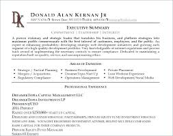 Example Summary For Resume – Tazy.info