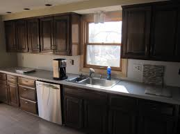 Kitchen No Wall Cabinets Kitchen No Upper Cabinets Backsplash Idea Adding Height To
