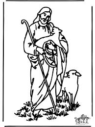 Kleurplaat De Goede Herder Bijbel Kleurplaten Nieuwe Testament