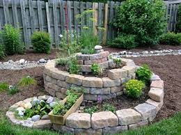 spiral garden herb spiral herb garden