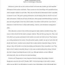 Education In Schools Essay 9 High School Essay Examples Samples Inside Persuasive Essay