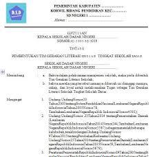 0%(1)0% found this document useful (1 vote). Contoh Sk Literasi Sekolah Dasar Ilmusosial Id