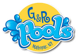 swimming pool logo design. G\u0026R Swimming Pools, Mahopac NY | Logo Design By Depinho Pool