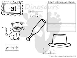 Small Picture New CVC Word Family Coloring Pages Short A Vowel 3 Dinosaurs