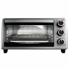 stainless steel countertop toaster oven baking cooking black decker toasting