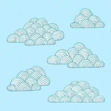 Clouds Design Set Of Clouds Isolated Cloud Background Decoration Logo Cloud