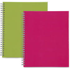 Sparco Twin Wire Professional Style Notebook 80 Pages Twin Wirebound