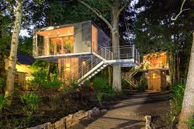 Modern Tree Houses Awesome Cool Tree House Plans Gallery 3d House Designs Veerleus