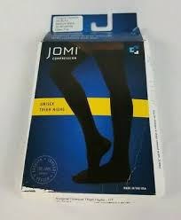 Jomi Compression Size Chart 30 40mmhg Compression Thigh High Stockings Medical Graduated