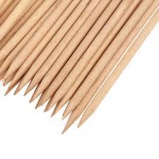 Amazon.com: Orange Wood Sticks, Nail Art, Cuticle Pusher Remover ...