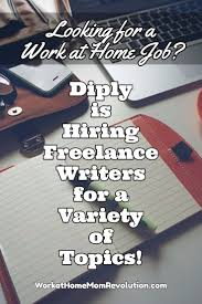 lance writing jobs diply work at home mom revolution diply is seeking lance writers to create lifestyle and entertainment content these home based