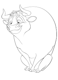 Free Printable Ferdinand Coloring Pages Birthday Party Coloring