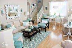 beachy living room. I Literally Smile Every Time See This Beachcottagelife Signature Color. It Both Soothes Me And Brings Joy! Aqua Seafoam Living Room - Home Decorating Beachy