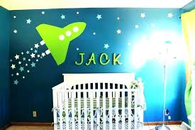 space crib bedding themed nursery outer for a baby rocket set