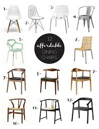 12 affordable modern dining chairs great chairs do sheepskin in them