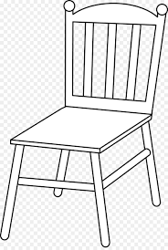 chair clipart black and white. Wonderful White Table Chair White Couch Clip Art  Line Art On Clipart Black And O