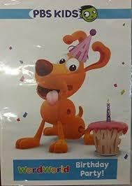 Wordworld Birthday Party New On Dvd Fye