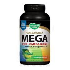 Nature's Way <b>Fully Balanced MEGA 3/6/9</b> Omega Blend | Lime ...