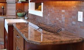 what types of kitchen countertops are there