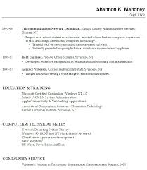 Resume Profile Examples For College Students Spectacular Sample