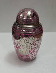 Decorative Urns For Ashes Pink Angel Small Keepsake Brass Memorial Urn Angel Cremation Urns 70
