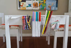 they work well for now can be easily removed when there are a few kids around the table