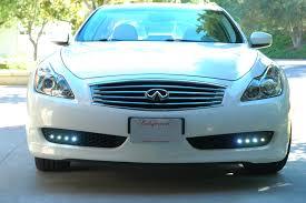 2009 Infiniti G37 Daytime Running Lights Custom Led Drl Installation Myg37