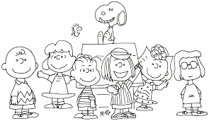 Peanuts Coloring Pages At Book Online New