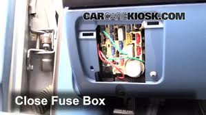 interior fuse box location ford f ford f  interior fuse box location 1990 1997 ford f 250 1995 ford f 250 xl 7 5l v8 standard cab pickup 2 door