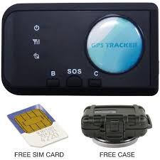amazon com falcon no fee gps tracker personal vehicle car amazon com falcon no fee gps tracker personal vehicle car tracking device case sim card gps navigation