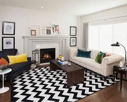 Simple Living Room Rugs Zigzagmodernlivingroomrug E With Models Design