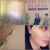 Amby Felix: Rice Paper and Milk Mask for Brighter Skin | Milk mask, Bright  skin, Rice paper