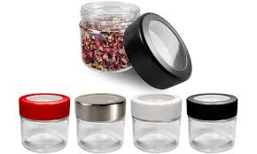 odor proof waterproof dry herb glass storage container from the trap jar