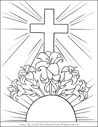 Easter Coloring Pages Religious Coloring Pages Religious Dirt Bike