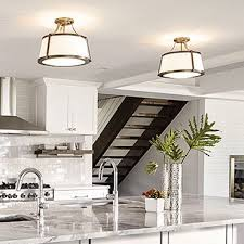 Flush Ceiling Lights Living Room Mesmerizing Low Profile Flush Mount Close To Ceiling Lighting Fixtures At