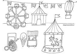 Disegno Da Colorare Giostre E Luna Park Disegni Mammafelice