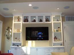 home theater with in ceiling speakers