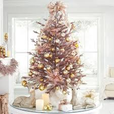 4 rose gold christmas tree christmas trees brylanehome