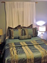bedroom curtains behind bed. Lovely Lalaland Mini Master Makeover Curtain Call With We Got Curtains To Hang Over Decorations Bedroom Behind Bed
