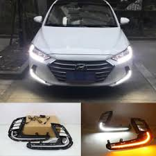 2017 Hyundai Elantra Bulb Chart Details About Led Light Guide Daytime Running Light Front Bumper Drl For Hyundai Elantra 2017