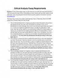 cover letter analytical essay sample analytical essay sample  cover letter how to write an analytical essay critical analysis example paperanalytical essay sample