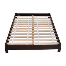 44% OFF - West Elm West Elm Simple Low Full Size Platform Bed Frame / Beds