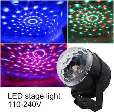 Detail Feedback Questions about <b>110V 220V Mini RGB</b> LED Crystal ...